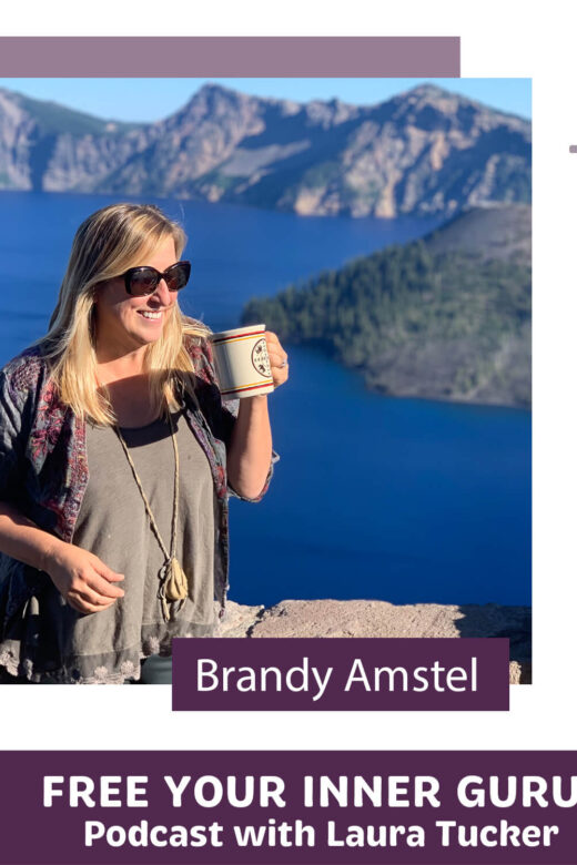 Brandy Amstel Free Your Inner Guru Podcast